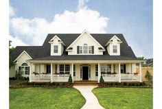 Eplans Low Country House Plan - Flexibility for a Growing Family - 2693 Square Feet and 4 Bedrooms(s) from Eplans - House Plan Code HWEPL09802...Floor plan is workable
