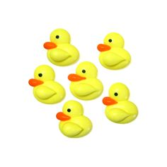 Small Yellow Duck Royal Icing Decorations