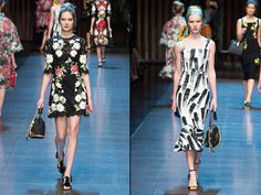 Dolce & Gabbana Spring-Summer 2016 Collection Dolce & Gabbana spring summer 2016 images have reminded bright postcards from sunny romantic Italian cities. Once again, confess their love for native Italy, the design duo have not changed their habits: #dolcegabbana #albertaferretti #prada #womensfashion #womenswear #trends #fashionblogger #fashionista #fashionblog