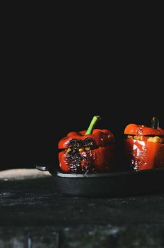 Stuffed Bell Peppers | A Brown Table