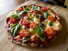 Transforme a pizza em uma refeição saudável com a quinoa :) #quinoa #pizza #receitas #comida #quinoapizza