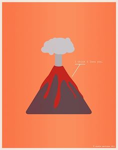 "Illustration (series) for ""Nerds In Love""   Science puns and great art...awesome!"