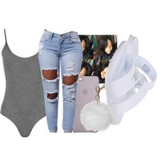 A fashion look from May 2016 featuring NIKE sandals y Topshop. Browse and shop related looks.