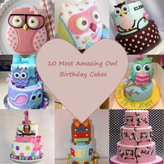 16b75d89a6a 10 Most Amazing Owl Birthday Cakes - Parental Journey Owl Cake Birthday,  11th Birthday,