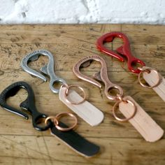 awesome bottlehook bottle opener in pewter // such an easy gift for a beer lover!