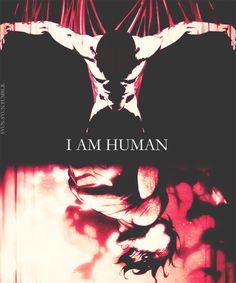 I AM HUMAN....I AM A MONSTER (attack on titan gif, eren)