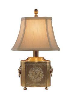 """FineHomeLamps.com - Tea Box Brass Buffet Lamp - 13"""", $345.00 (http://www.finehomelamps.com/tea-box-brass-buffet-lamp.html)"""