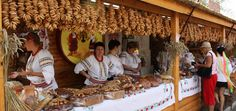Sorochyntsy Fair is the largest Ukrainian fair; and it takes place every year (in August), in the village of Velyki (Grand) Sorochyntsy near Poltava