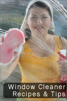 Homemade Window Cleaner Recipes & Tips.Making your own window cleaner is… Homemade Cleaning Products, Household Cleaning Tips, Natural Cleaning Products, Cleaning Hacks, Cleaning Supplies, Cleaning Crew, Household Cleaners, Diy Cleaners, Cleaners Homemade