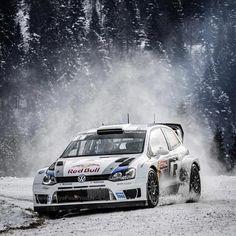 Sebastien Ogier WV Polo WRC - Rallye Monte-Carlo 2013