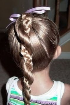 Cute little girl hairdos - Frisuren Stil Little Girl Hairdos, Girls Hairdos, Creative Hairstyles, Trendy Hairstyles, Teenage Hairstyles, Braid Hairstyles, Wedding Hairstyles, Girl Haircuts, Updo Hairstyle