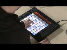 Ableton Push by Akai Professional. Comes bundled with Ableton 9. An absolute must-buy once I have money..