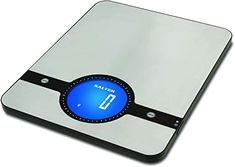 Salter Geo Digital Kitchen Scales - Electronic Food Weighing Stainless Steel Cooking Scale Home Appliance, LCD Display, Touch Sensitive Add & Weigh, Compact Storage, Easy to Clean - 15 Year Guarantee Electronic Kitchen Scales, Digital Kitchen Scales, Usb Gadgets, Electronics Gadgets, 4 Inch Recessed Lighting, Modern Home Electronics, Cooking Scale, Clean 15, Solid Wood Dining Chairs