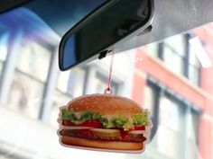 Burger King Has a Whopper Air Freshener Because All Cars Should Smell Like Burgers