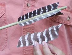 Primitive Archer | Easy, Fast And Simple Arrow Fletch