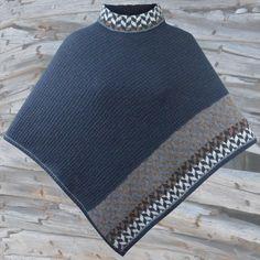 Kids Knitting Patterns, Knitting For Kids, Knitting Projects, Alpacas, Knitted Poncho, Kobe, Shawl, Knitwear, Knit Crochet