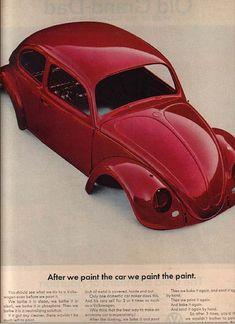 All The Great Mad Men Era Volkswagen vs lamborghini cars sport cars sports cars Vw Classic, Best Classic Cars, Vw T3 Doka, Vw Vintage, Combi Vw, Vw Cars, Transporter, Car Advertising, Vw Beetles