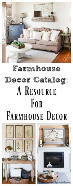 Do you like farmhouse decor? I have put together a farmhouse decor catalog that is full of my favorite online shops that have beautiful farmhouse decor for your home. Home Decor Online Shopping, Home Decor Catalogs, Farmhouse Style, Farmhouse Decor, Cotton Decor, Interior Decorating, Decorating Ideas, Science Fun, Staycation