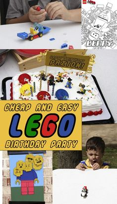 Cheap and Easy Lego Birthday Party Plans and Resources