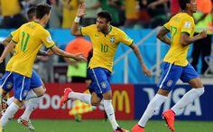 Brasil venció 3-1 a Croacia en el partido inaugural del Mundial 2014