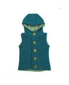 Vesta Lana fiarta PETROL dublata cu jerse de lana gri 100% lana | Breslo Lana, The 100, Coat, Jackets, Fashion, Atelier, Down Jackets, Moda, Sewing Coat