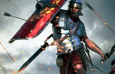 Roman Legion in battle