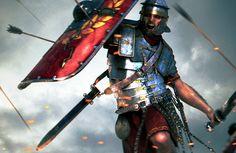 Roman Legion in battle
