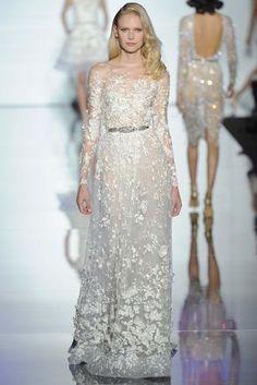 Zuhair Murad Spring 2015 Couture Fashion Show - Henna Lintukangas (Premium)