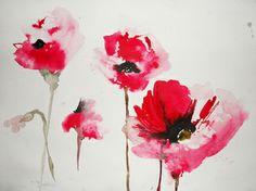 Four Poppies, Karin Johannesson
