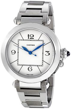Cartier Pasha Automatic Mens Watch W31072M7  $7,695.00