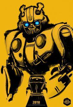 Bumblebee Movie Poster 2018 SDCC Comic Con Transformers Film Art Silk Print home Decor - Size Transformers Bumblebee, Transformers Film, Marvel Movie Posters, Original Movie Posters, Marvel Movies, Disney Pixar, Optimus Prime, Man In Black, 2018 Movies