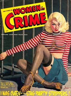 Women in Crime 1948 George Gross