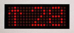 Dot-matrix display / LED / 3-digit / 17-segment ULS54H Dewhurst