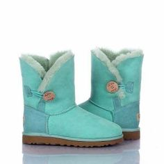 Ugg Bailey Button Boots Light Green 5803 Model: Ugg Boots 090 Save: 63% off