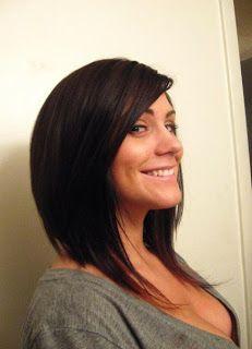 long a line haircut - Google Search