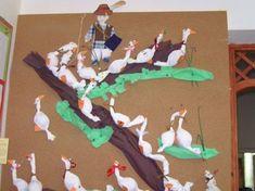 Márton napi ötletek :: Család, óvoda, kreatívitás Camping Humor, Dinosaur Stuffed Animal, Kindergarten, Crafts For Kids, Halloween, Toys, Fall, Animals, November