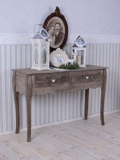Tischkonsole Landhausstil Konsolentisch Vintage Antik Schminktisch Konsole
