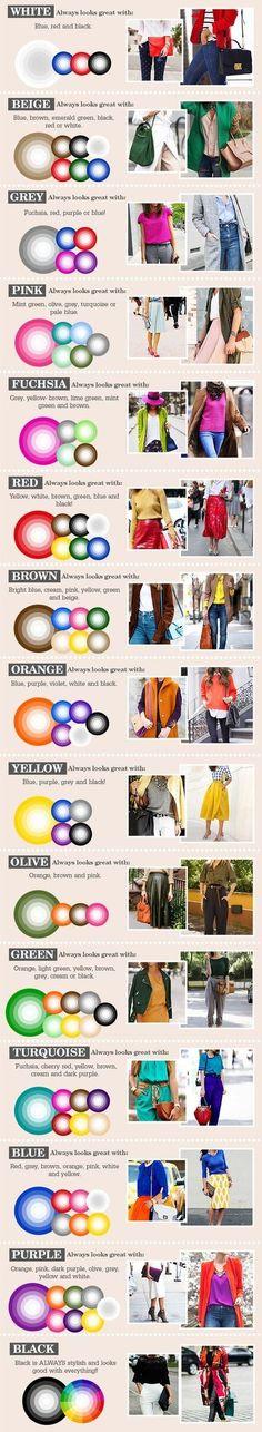 Tips! Snygga färger som passar ihop!
