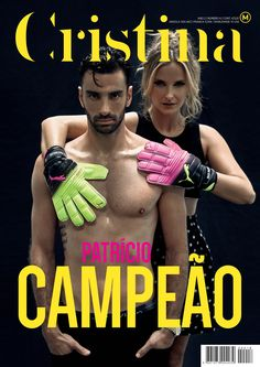 Revista Cristina | #18 | Capa | Rui Patrício