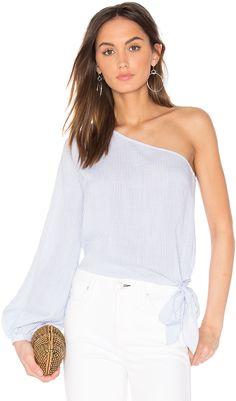 L'Academie x REVOLVE The Romantic Sleeve One Shoulder Blouse