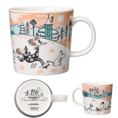 Tove Jansson, Moomin Mugs, Kitchenware, Tableware, Coffee Mugs, Ceramics, Park, Random Stuff, Public