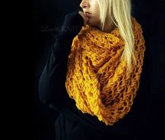 i want to make this. too bad i hold my crochet needles too tightly.   (from loveandknit on etsy.com)