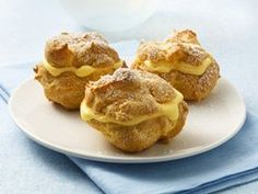 Betty Crocker Cream Puffs Recipe - top rated recipe!! (I serve with cool whip in the center)