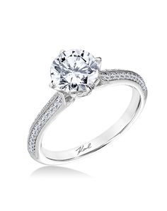 Karl Lagerfeld Engagement Ring | http://trib.al/sYDsZJb