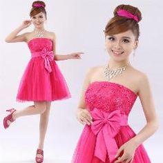 [ 36% OFF ] New Fashion Short Bandage Lace Zipper Homecoming Dress Short Design Short Lace Up Children Dress