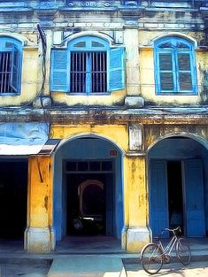 Hoi An facade, Hoi An, Vietnam - I loved this place! It is tiny but sooo beautiful!