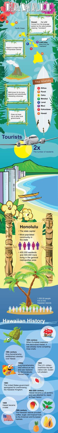 Nice blogpost about Infographic of Hawaii Facts by mowpages
