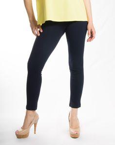 Παντελόνι κολάν σε εφαρμοστή γραμμή χωρίς τσέπες  Σύνθεση: 100% TOLEDO  Ελληνικής κατασκευής Capri Pants, Fashion, Capri Trousers, Moda, Fashion Styles, Fashion Illustrations