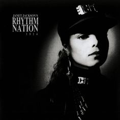 Iconic Album Covers - Janet Jackson's Rhythm Nation