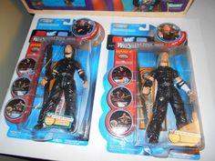 WWF WWE JAKKS TITAN TRON WRESTLEMANIA XVII THE HARDY BOYZ BOYS MOC FIGURE LOT #JAKKSPacific